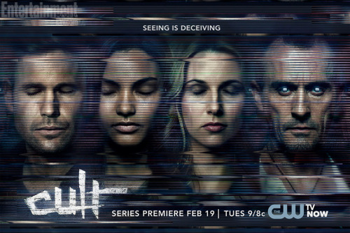 If The Following just isn't enough for you, The CW's got a show called Cult premiering in February. Creepy!