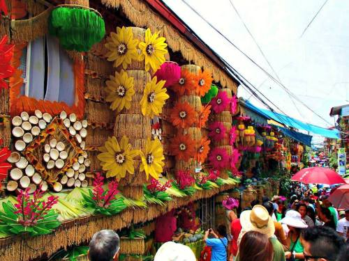 somewhereintheworldtoday:  The amazingly colourful Pahiyas festival in the Philippines is always a favourite of ours. Especially as you can eat the decorations!  Original tumblr post: bugenggeng:  HAPPY PAHIYAS FESTIVAL , LUCBAN QUEZON ! :) Sayang hindi ako nakauwi :(