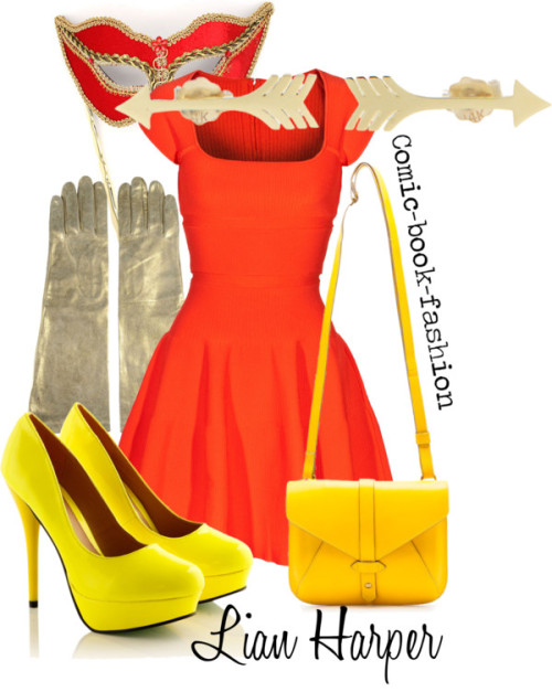 Lian Harper (Formal) by comic-book-fashion   Lian Harper, formal for Anon