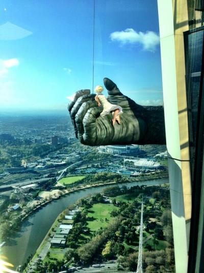 Spotted! King Kong at Melbourne's Eureka Skydeck 88(Photo: King Kong Live on Stage)