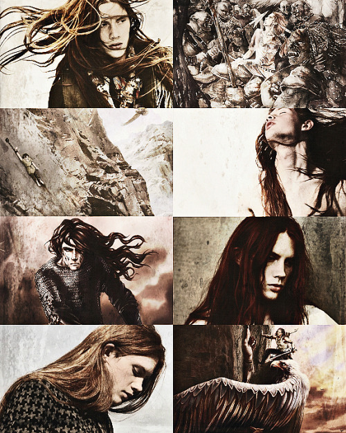 There Maedhros in time was healed; for the fire of life was hot within him, and his strength was of the ancient world, such as those possessed who were nurtured in Valinor. His body recovered from his torment and became hale, but the shadow of his pain was in his heart; and he lived to wield his sword with left hand more deadly than his right had been.    x
