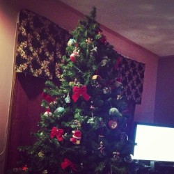 My cousin is just now taking her Christmas tree down. #nbd.