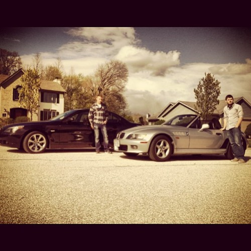 Me & @andyg414 #bimmer #beamer #bmw #cars #car #igdaily #boss #entrepreneur
