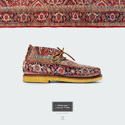 Persian Shoes by Anton Repponen