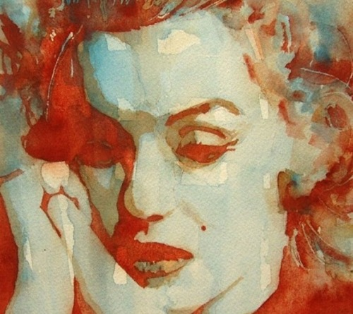 Fragile Marilyn Monroe by Paul Lovering