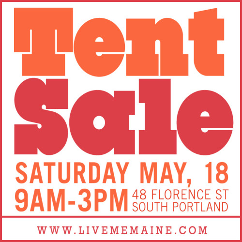 We're doing some spring cleaning! Yardsale/pop-up shop this Saturday. Samples, full product line-up and free lemonade.