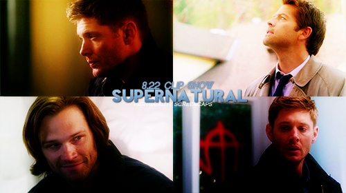 Done capping. View them here @http://www.homeofthenutty.com/supernatural/screencaps/index.php  Supernatural 8.22 Clip Show