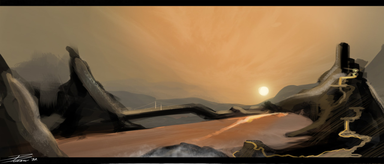 Landscape Speed Painting…