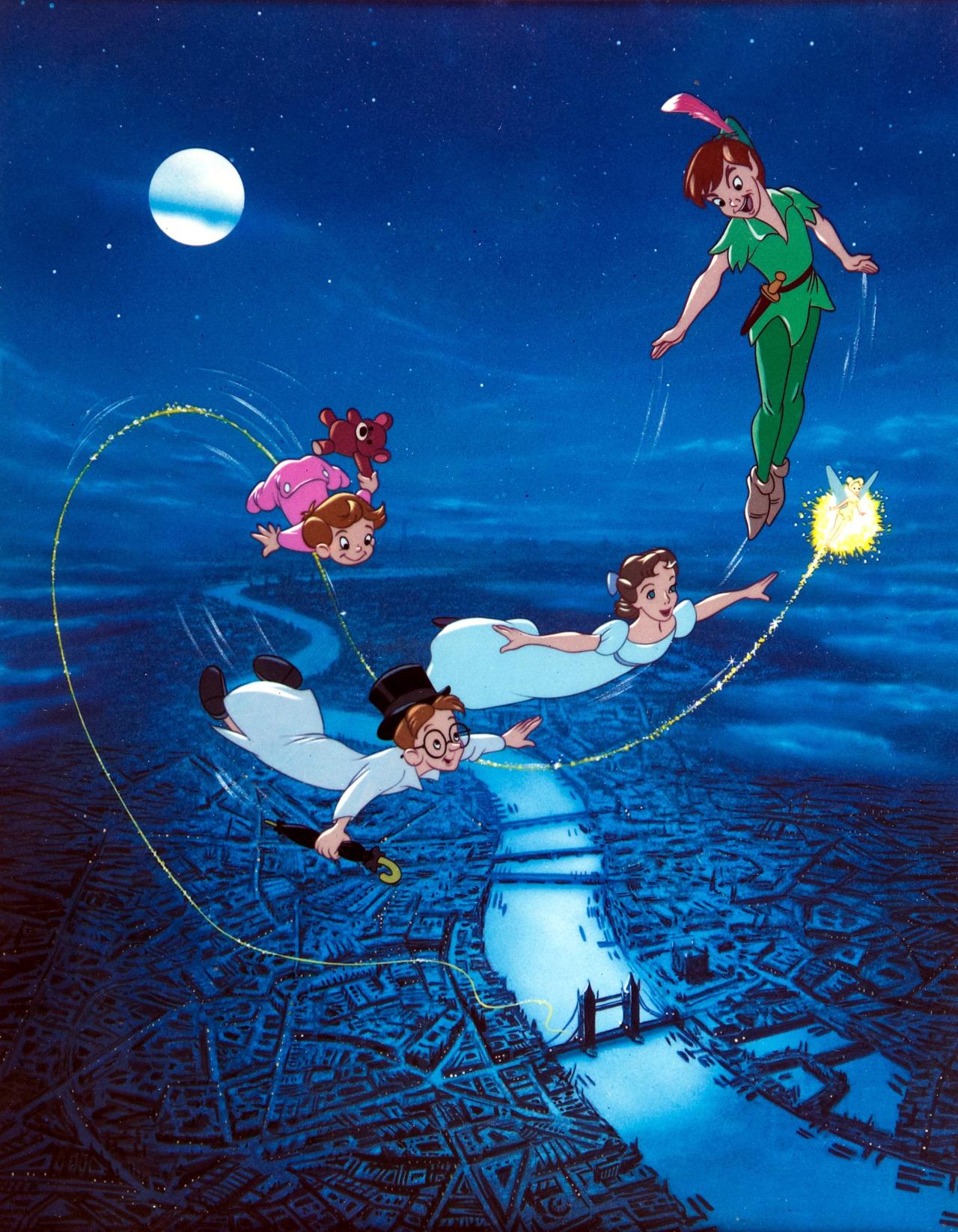 The Bristol Board: Walt Disney's Peter Pan print.