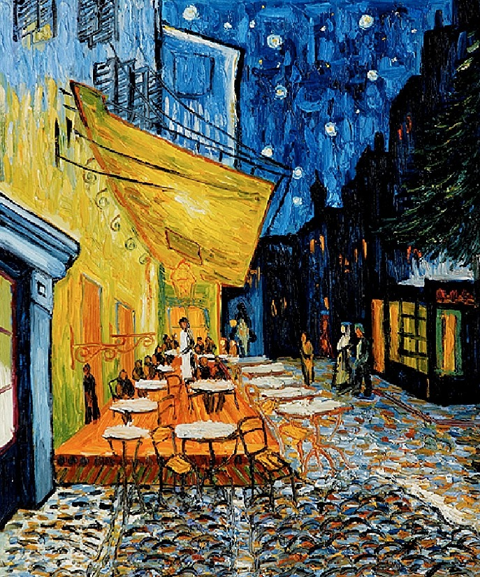 Cafe Terrace at Night, Vincent van Gogh