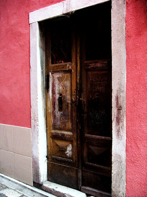 | ♕ |  Old doors in Zadar, Croatia  | by © Mariana Tomas