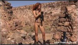 HotKinkyJo The Apocalypse Girl Big Black Anal Terrorist Chalange Movie 1080p mp4