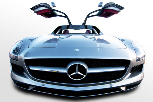 "automotivated:  (via 500px / Photo ""MB SLS"" by Kurt Golgart)"