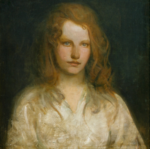 Abbott Handerson Thayer Margaret MacKittrick Portrait art painting