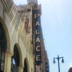 #Palace #DTLA #Broadway #Historic #LosAngeles #Sky #Sunrays