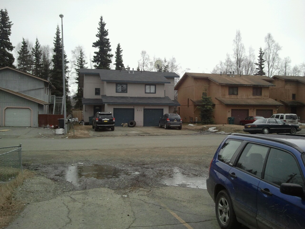 Its 49° in the Muldoon neighborhood of Anchorage, AK. This its the first rain of the year that isn't threatening to turn into snow.
