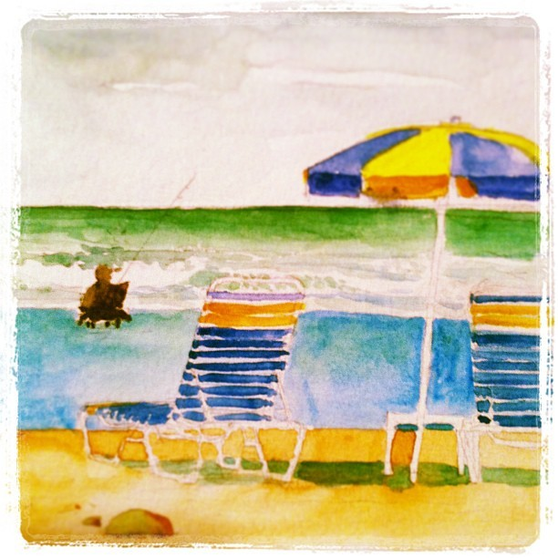 #watercolor #daytona #beach #roadtrip & #chilling with good #friends