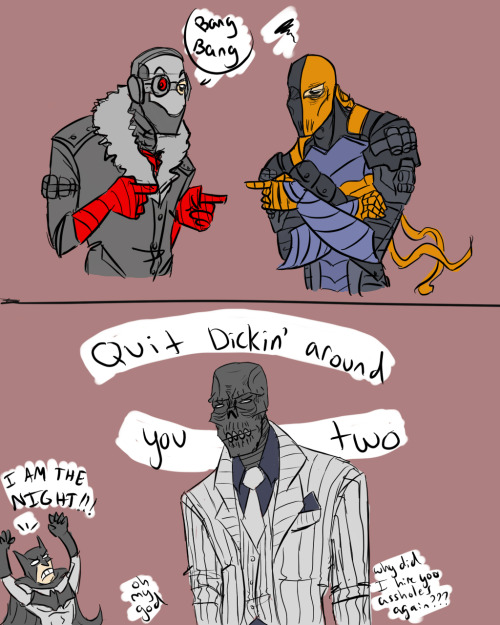 liches-get-stitches:  im really excited for arkham origins but mostly for black mask because wow what a cutie