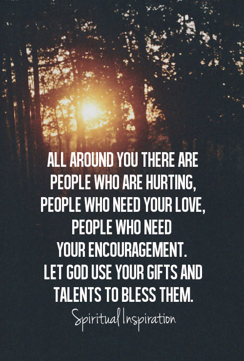 "spiritualinspiration:  ""If anyone has this world's goods (resources for sustaining life) and sees his brother and fellow believer in need, yet closes his heart of compassion against him, how can the love of God live and remain in him? Let us not love [merely] in theory or in speech but in deed and in truth."" (1 John 3:17–18, AMP) I've heard it said that you can give without loving, but you can't love without giving. Notice this verse tells us that love isn't just about our words or thoughts, it's about our actions. Love is about reaching out and meeting the needs of others. Sometimes meeting someone's needs is as simple as a smile or sharing a word of encouragement. There are many ways to show the love of God. Can you pay for someone's gas or groceries? Do you see a need in someone's life that you can meet? Remember, you are the hands and feet of Jesus in the earth. The Lord wants to bless you today so that you can be a blessing to others. He wants to work through you to show His love and compassion. Today and every day, look for ways to put your love into action. The Bible says that it's His kindness that leads people to repentance. He wants to show His kindness in the earth through you. Step out and sow good seeds of love by meeting the needs of others. God promises that those seeds will produce an abundant harvest in your life in return!"