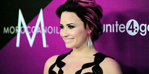 Demi Lovato and Selena Gomez at Unite4: Humanity Awards