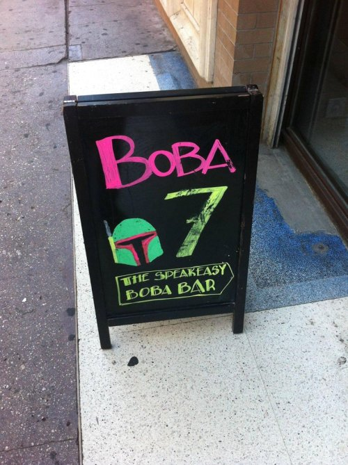 scificity:  http://scificity.tumblr.com Boba place in Downtown LA doing it right