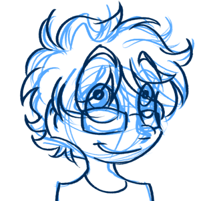 paz told me their hair would be fun to draw  ir was right