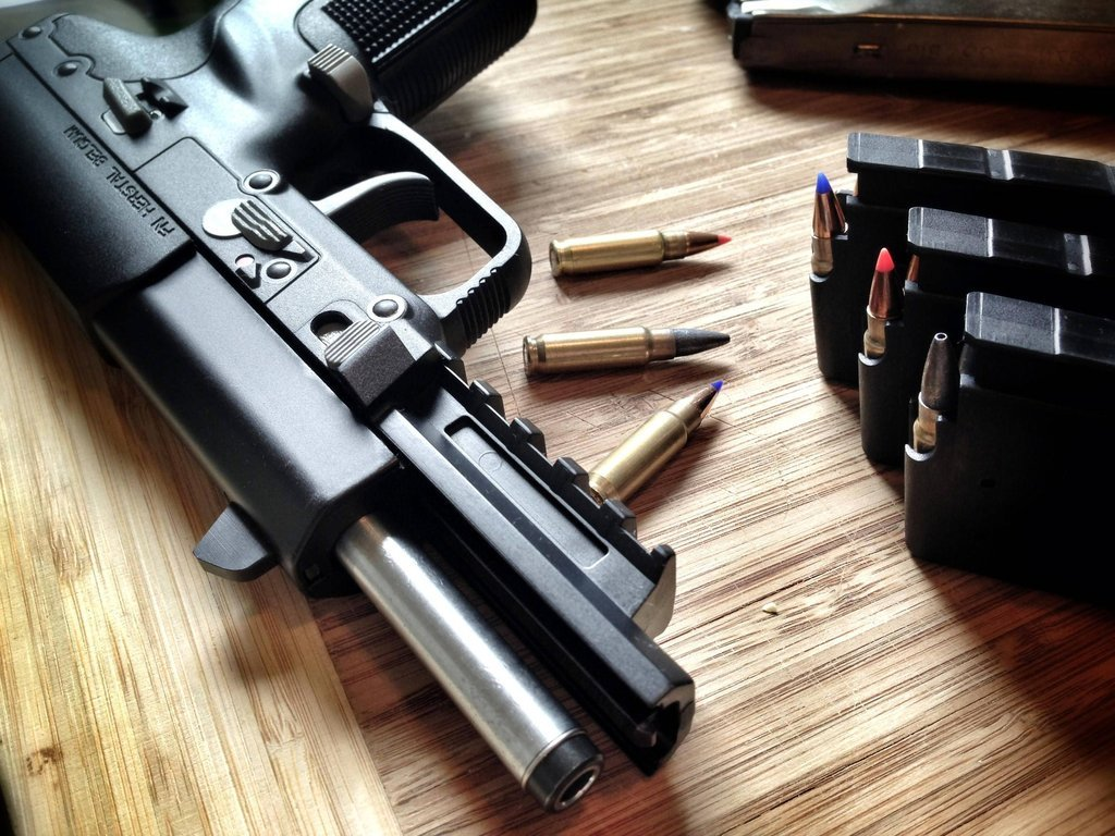 everyday-cutlery:  FN Five-seveN by bwhoback  This is the gun I'm getting when I'm 21/can afford one.
