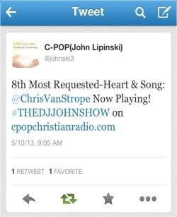 TMG.On: C-Pop Christian Radio Christopher Strope