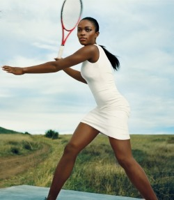 divalocity:  Rising Tennis Star Sloane Stephens for VOGUE June 2013. Photo: Norman Jean Roy