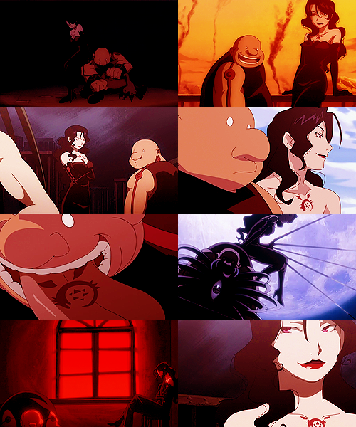 "batcows:  fma meme | eight relationships {1/8} → Lust and Gluttony  ""Lust... Lust... where is Lust?"""