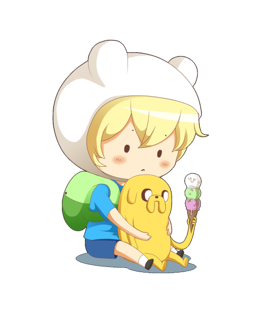 badbitchesandgoodink:  Here is a transparent Finn & Jake cuz I am still VV bored….