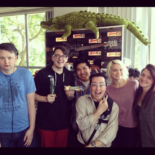 @tandemtracks photo! Some radio family with Rykka! (: