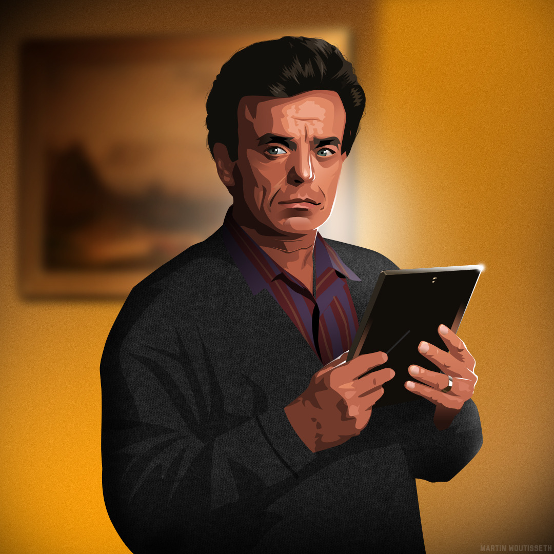 Twin peaks illustrated - Leland Palmer by Martin Woutisseth