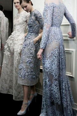 fashionandfiction:  wink-smile-pout:   Elie Saab Haute Couture Spring 2013   the dress on the far right is perfection