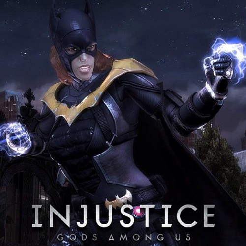 ryryeverett:  New favorite character #Batgirl #Injustice welcome to the family!!!  Almost bought a ps3 JUST For this game…