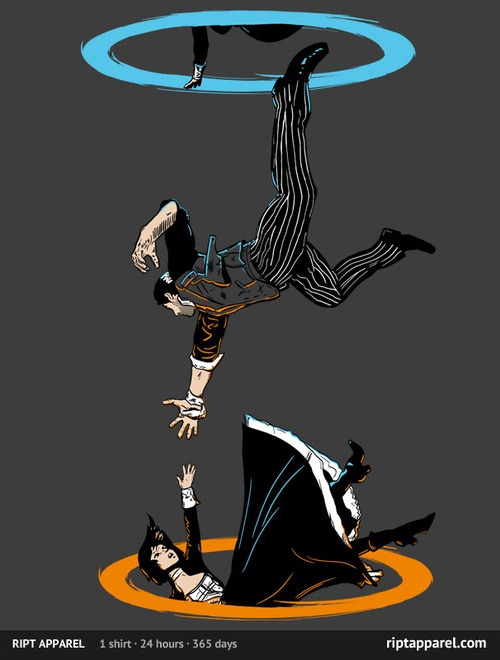 gamefreaksnz:  The Infinite Loop by Moysche US $10 for 24 hours only Artist: Redbubble | Facebook | Tumblr