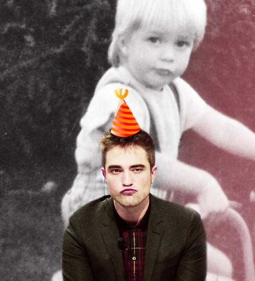 HAPPY 27th BIRHDAY ROBERT THOMAS PATTINSON!