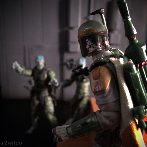 Boba Fett vs Zombies // by r2witco