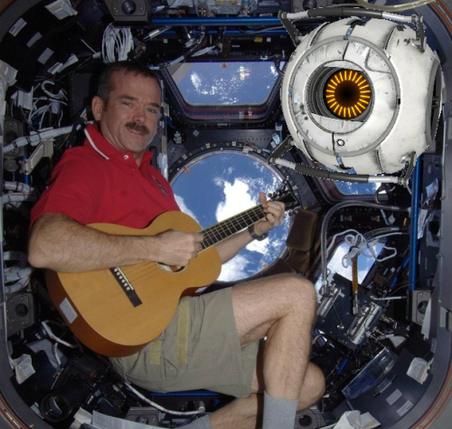 stephani-d:  Col. Chris Hadfield (AKA SPACE TUMBLR) is the best at space!