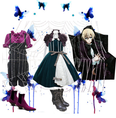 comeonintothemadhouse:   Lolita Alois Trancy by cammymain on Polyvore