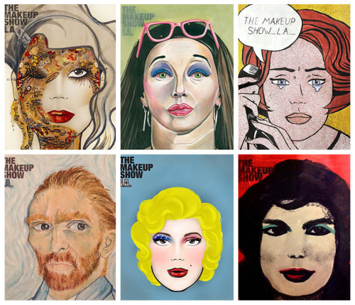 Check out some of the finalists of The Makeup Show 2013 Face Chart Contest!