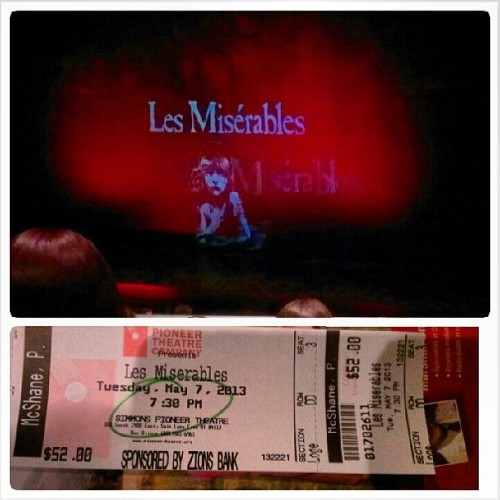 Dinner and show with MUSE project. #muse #dinner #le #miserables #lemiserables #greek #french #revolution #frenchrevolution #england #musical #alain #boublil #HigaPhoto #victorhugo #victorhugo