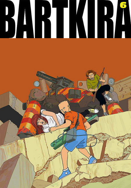 BARTKIRA vol. 6 on Flickr.… and that's all, folks. #bartkira #akira #simpsons