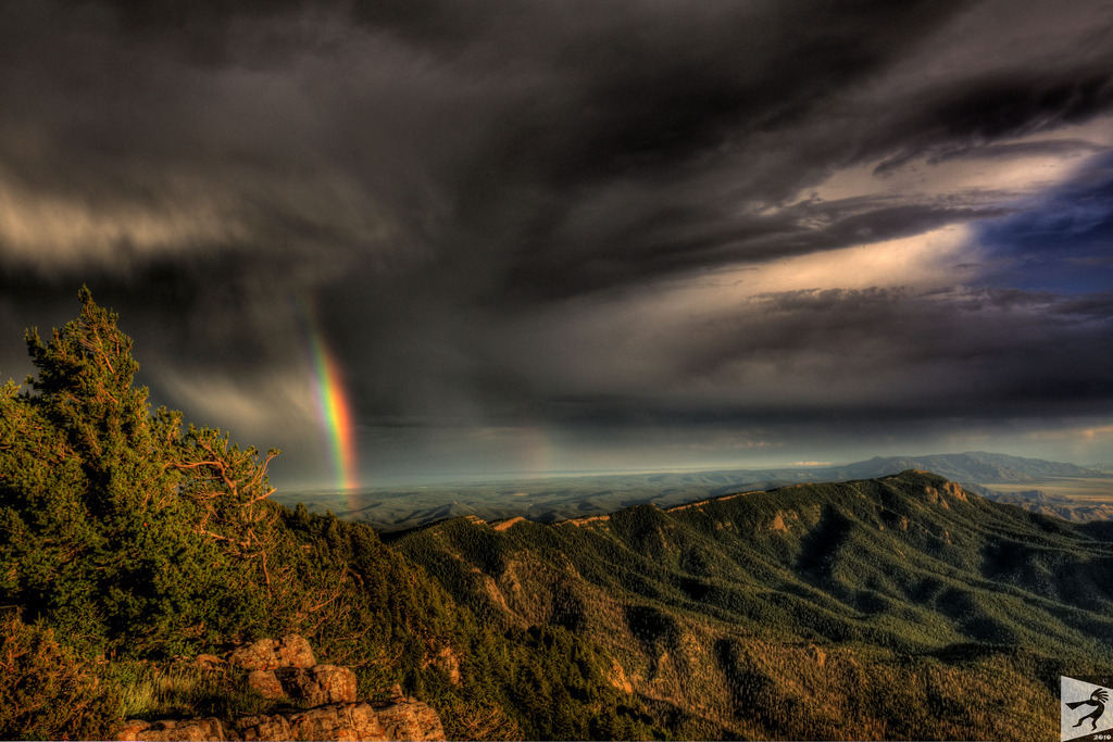 illbequirky:  Over The Rainbow (by Derek Therrell Photography)
