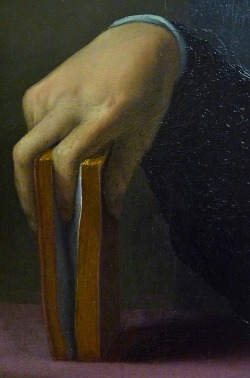 loverofbeauty:  Bronzino, detail, Portrait of a Young Man (1530s) (Source: c0ssette)