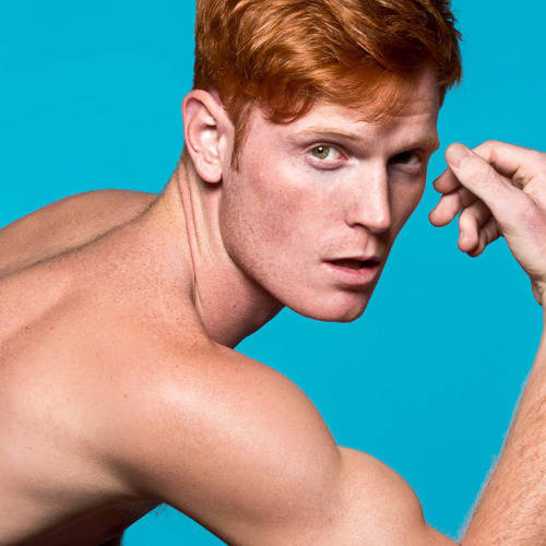 for-redheads:  RED HOT: NEW YORK exhibition Launchpad for RED HOT 100 - The art book containing 'The 100 sexiest RED HOT guys in the world'