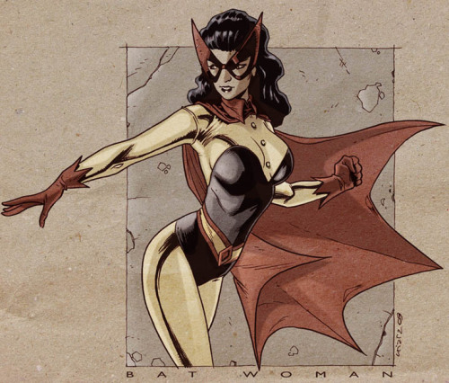 Retro Batwoman By ~dichiara [Blog]