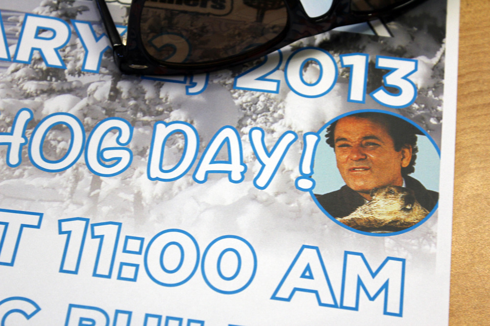 agentraybans:  Successfully snuck Bill Murray onto another event poster. At least this time its kind of relevant.