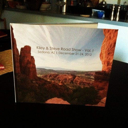The Book #kileyandsteveroadshow #book #travel #sedona #az #arizona #adventure #cathedralrock #trip #insta #instamood #instabook #beauty #beautiful #explore #instagram #nikon #d7000 #iphone #blurb #guide #roadtrip #photo #photography #xs #camera #steveosw #steveslefteye #isstevestillalive #landscape #nature #outdoor