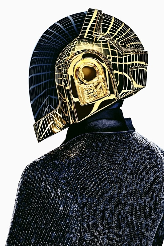 wgsn:  Fully sequined @YSL tuxedos for @daftpunk in the latest @GQ_France
